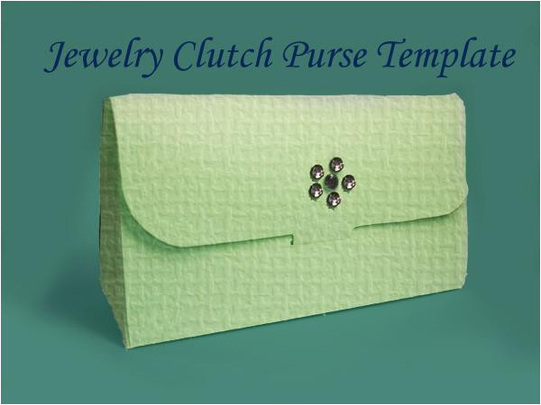 Clutch Purse Templates You Have to See Printable Clutch Purse Gift Bag Template