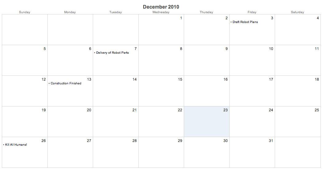 Codeigniter Calendar Template Modifying the Default Codeigniter Calendar Template for