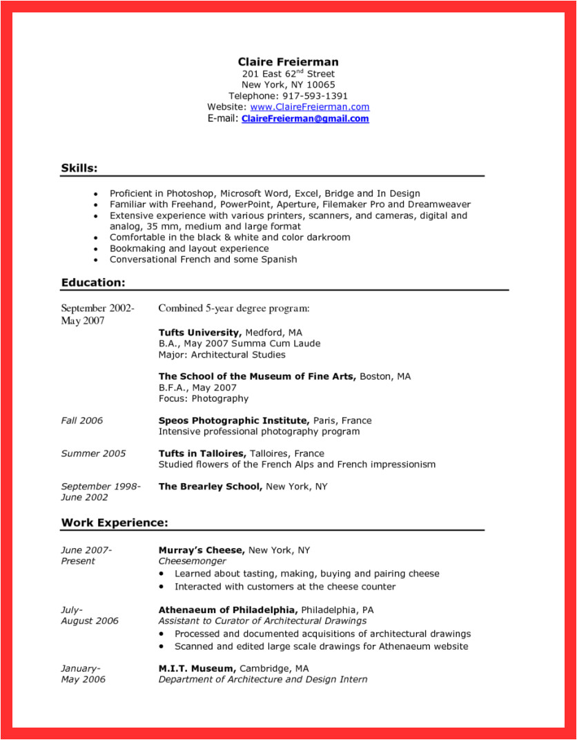 Coffee Barista Cover Letter Barista Cover Letter Good Resume format