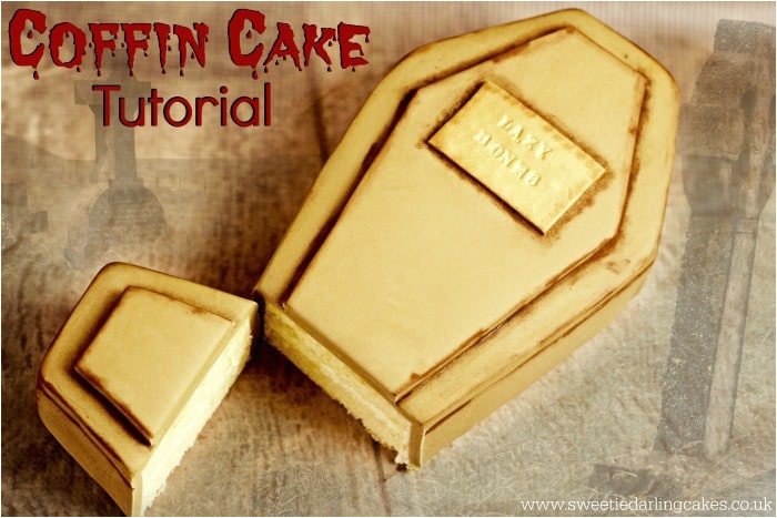 coffin cake template