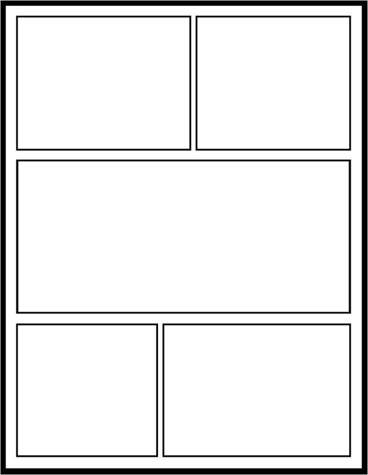 photoshop comic book template