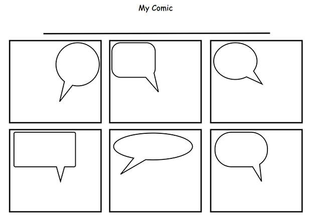 Comic Strip Template Maker Comic Strip Template Free Premium Templates