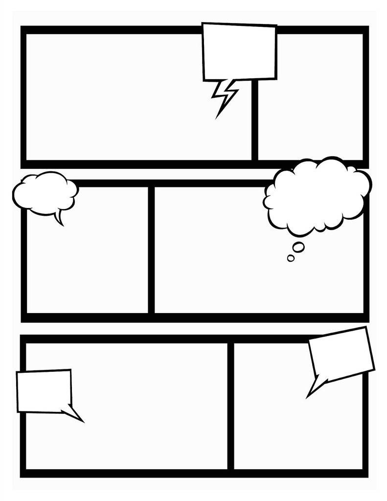 Comic Template Creator Comic Book Template Stretch Your Creativity and Create