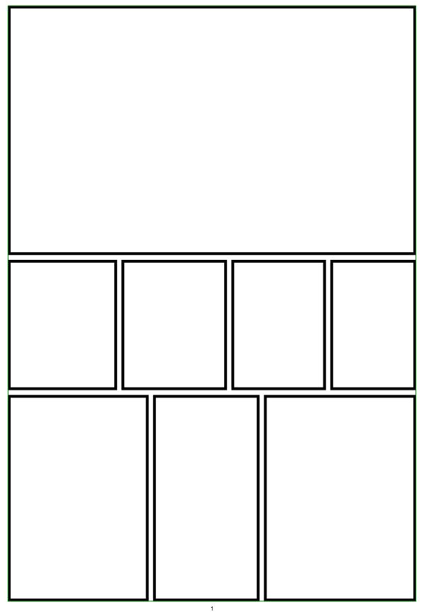 Comic Template Creator Create Video Notebook A Look at Using Comic Creator for Video