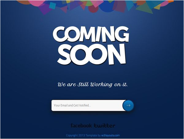Coming soon Page Template WordPress 20 Quot Coming soon Quot Templates Worth Waiting for WordPress