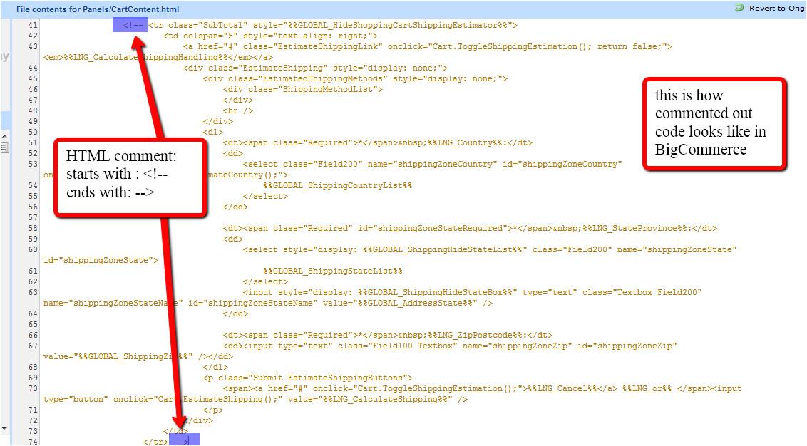 use wingrep locate bigcommerce templates need change