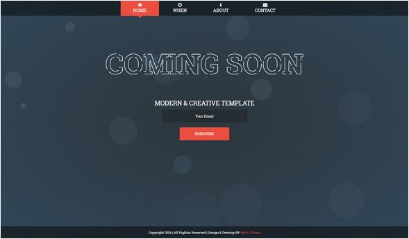 free website under construction templates