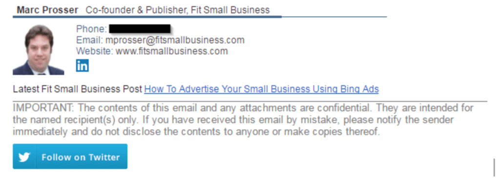 Company Email Signature Template 25 Business Email Signature Examples From the Pros