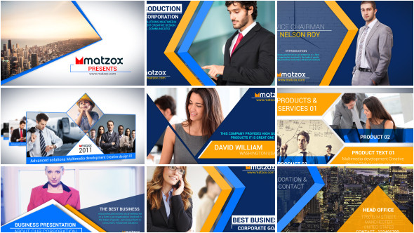 corporate company profile corporate after effects templates