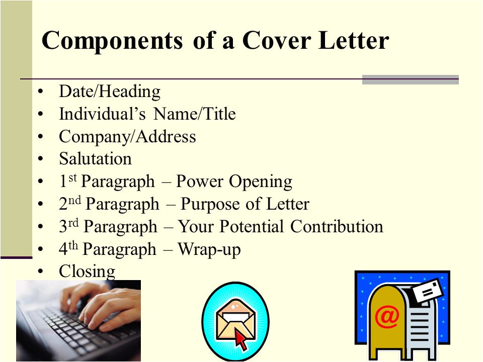 Components Of A Good Cover Letter Business Writing Resume Writing Cover Letters Memos S
