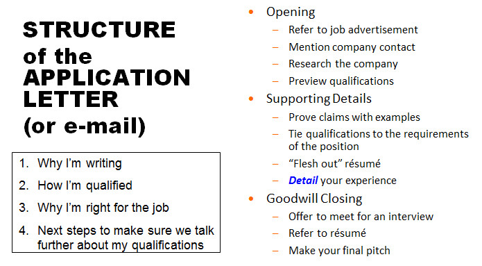 Components Of A Good Cover Letter Mcnair Workshop Cover Letters