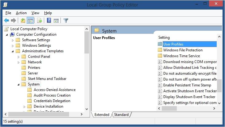 Computer Configuration Administrative Templates Cresterea Vitezei De Login Pe Windows 7 Windows 8 8 1