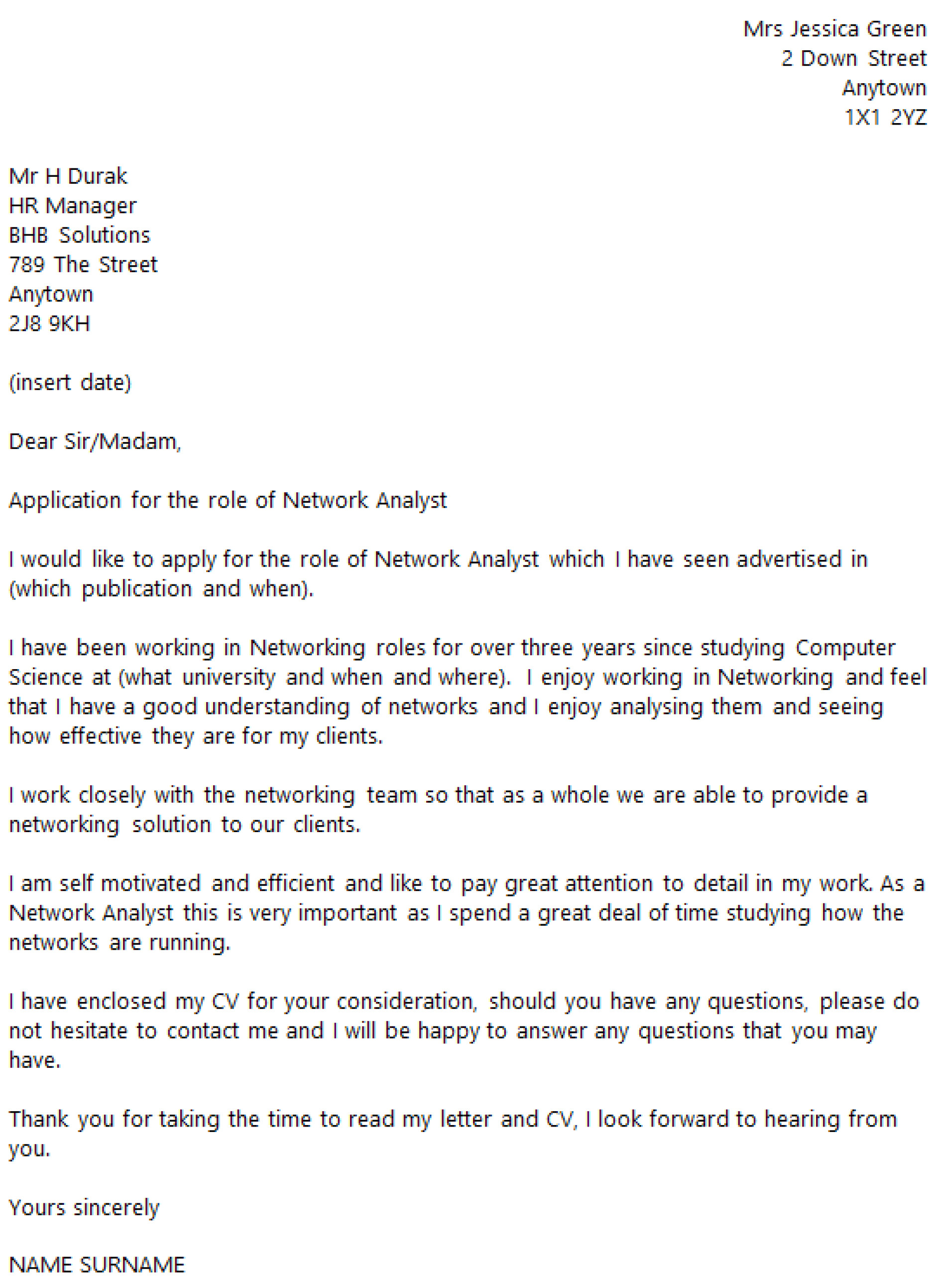 Computer Networking Cover Letter Computer Engineering Cover Let Staruptalent Com