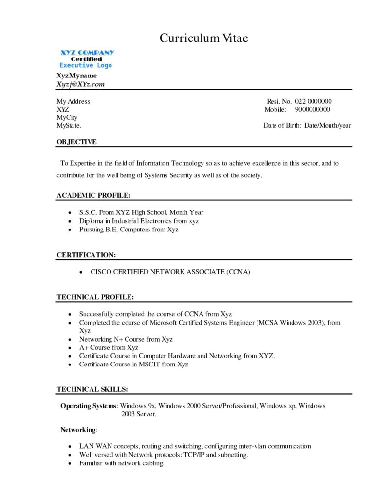 Computer Networking Cover Letter Credit Administration Sample Resume Network Engineer Cover