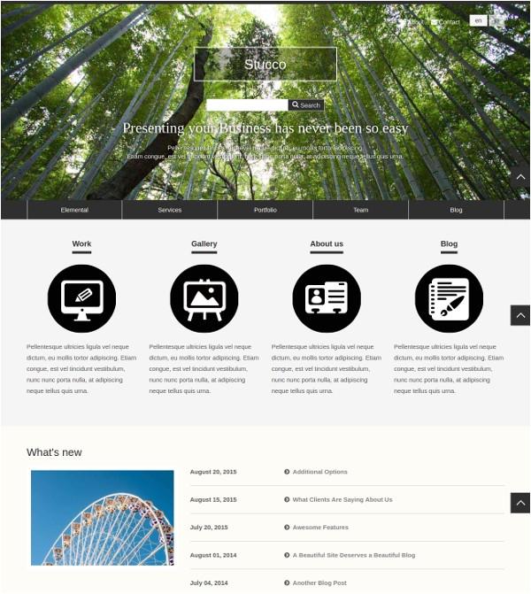 Concrete5 Templates Free 7 Free Concrete5 themes Templates Free Premium