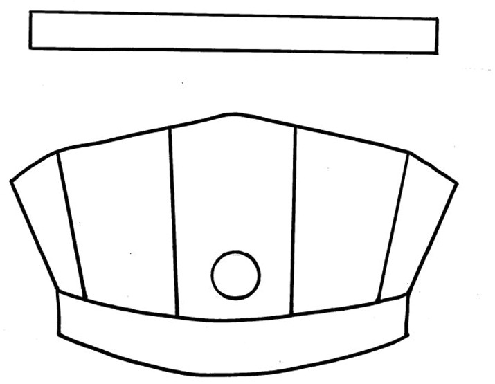 conductor hat template