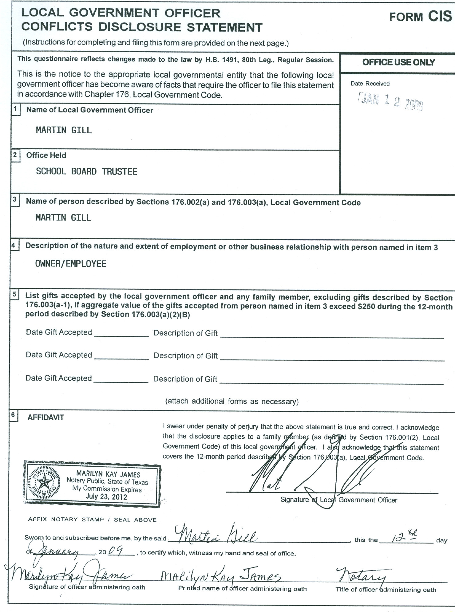 waiver of conflict of interest attorney form