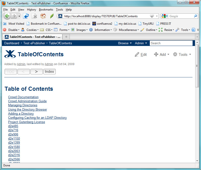 confluence blog template