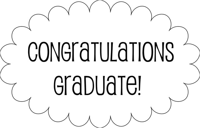 post graduation congratulations templates printable 392517