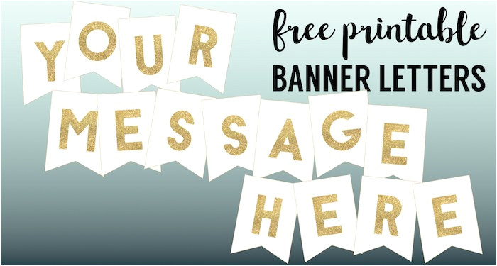 congratulations banner free printable gold banner letters short