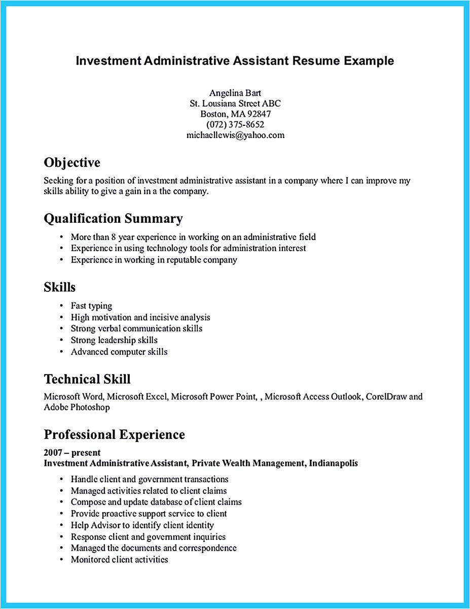 Consular assistant Cover Letter Admin assistant Resume Sample Sarahepps Com