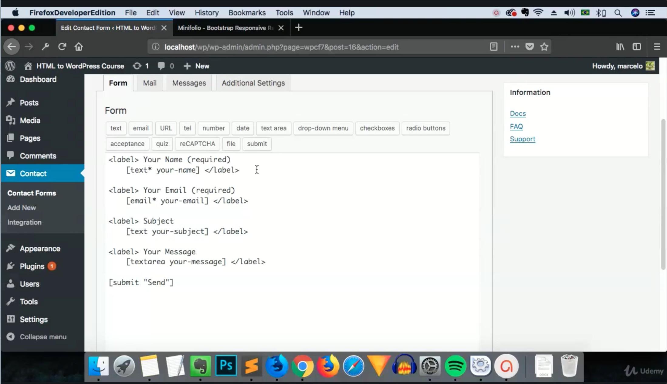 Convert HTML Template to WordPress theme Online Comidoc Convert An HTML5 Template to A WordPress theme