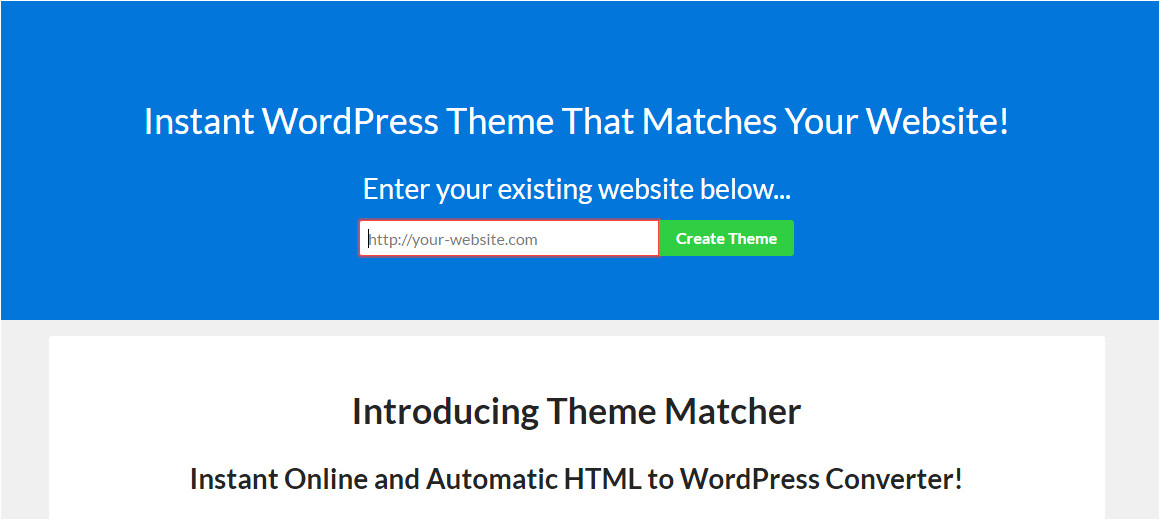 convert html to theme online free