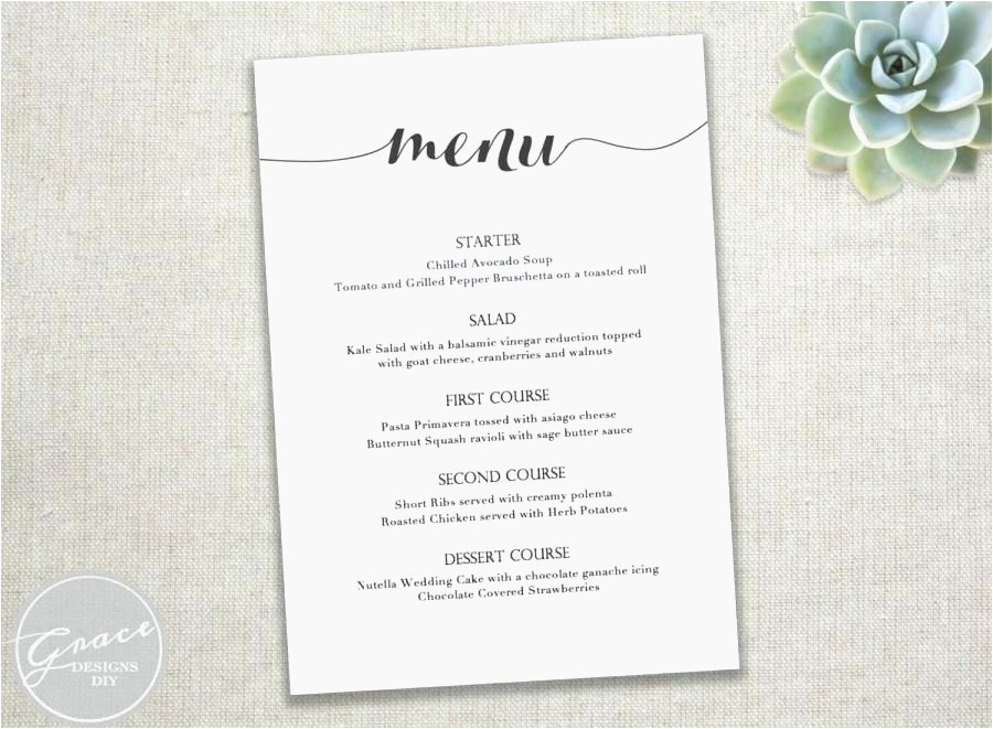 dinner menu template free download convertxtodvd 5 menu templates traguspiercingfo