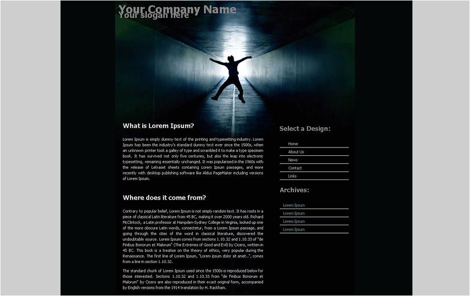 Cool Dreamweaver Templates 45 Best Premium Dreamweaver Website Templates Free