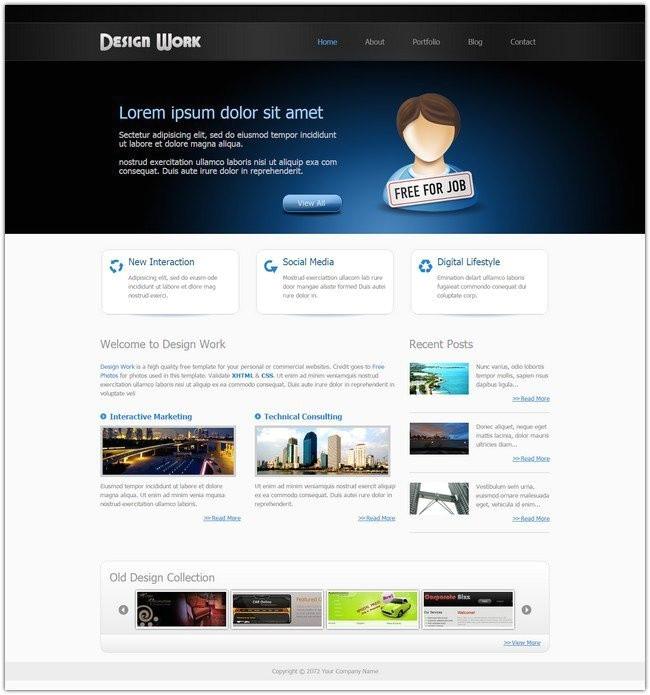 cool dreamweaver templates dreamweaver templates template for resume