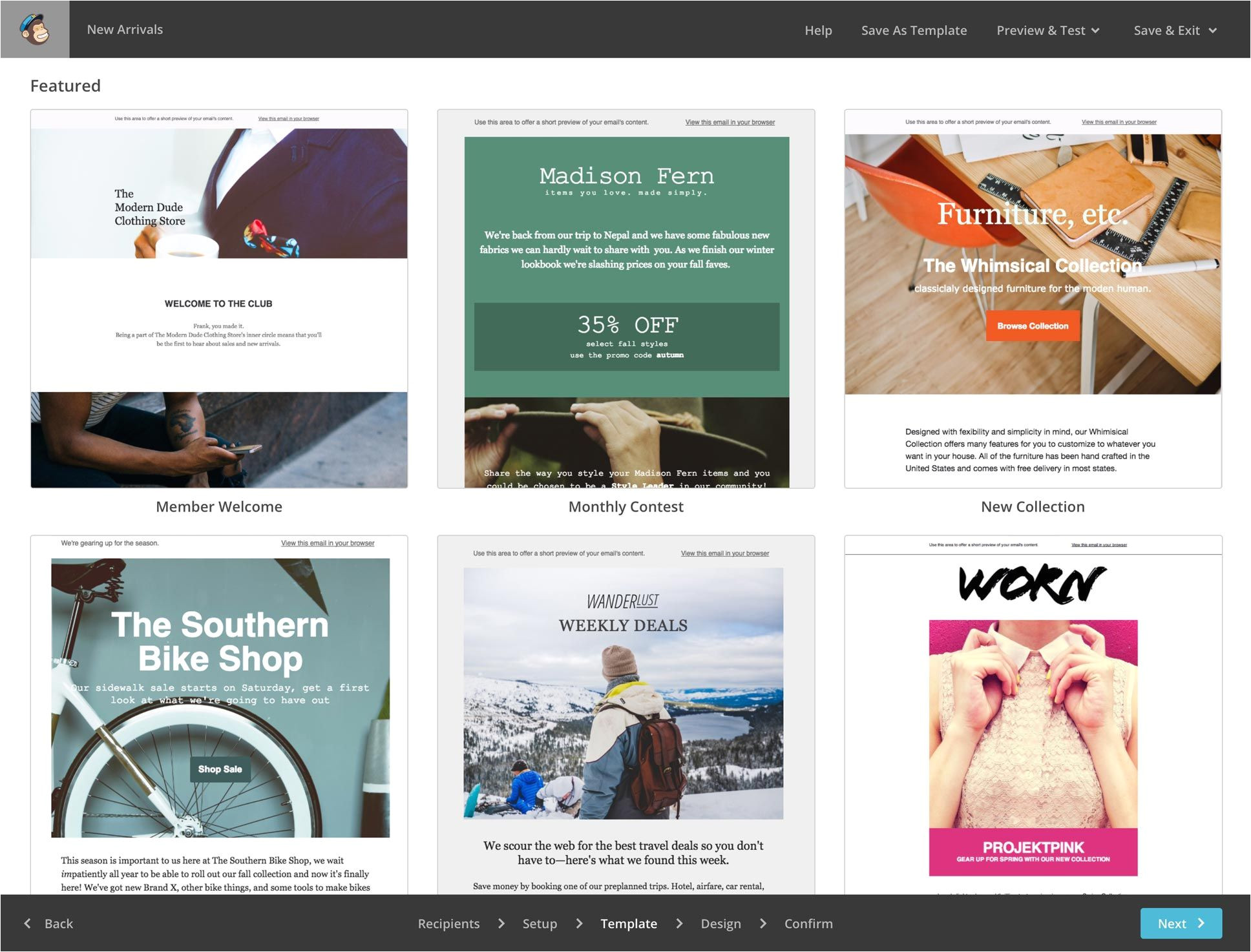 Cool Mailchimp Templates Mailchimp Makes Designing Templates for Your Business