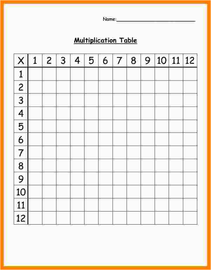 12 blank multiplication table pdf