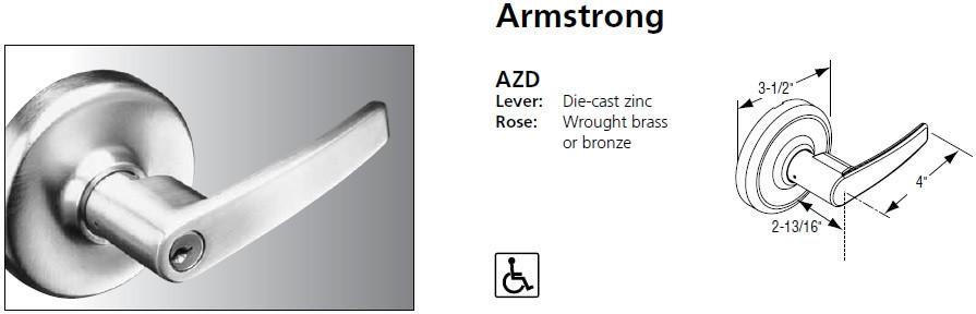 corbin russwin cl3851 standard duty entrance or office lever newport armstrong princeton lock