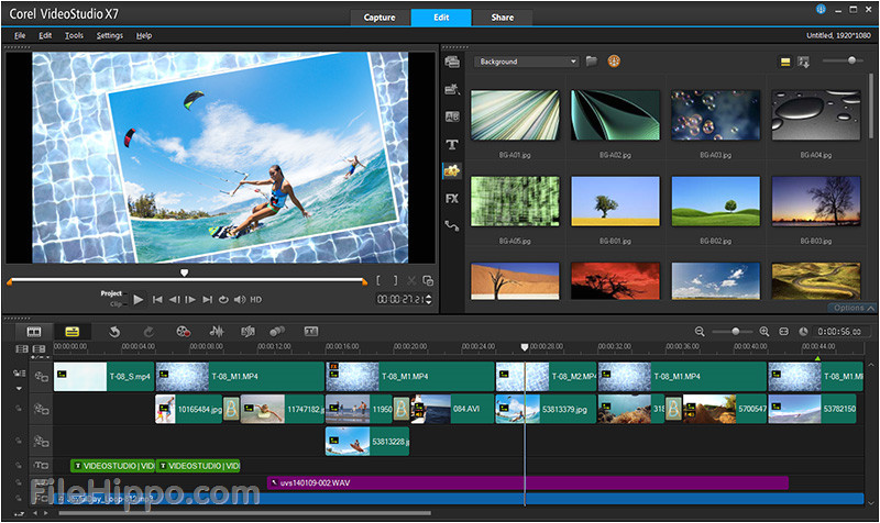 Corel Video Studio Templates Download Download Corel Video Studio Pro Filehippo Com
