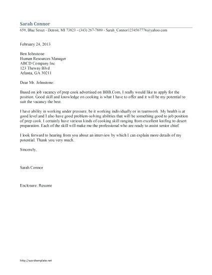 proper salutation for cover letter