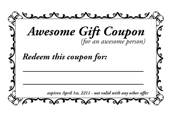 Coupon Making Template 28 Homemade Coupon Templates Free Sample Example
