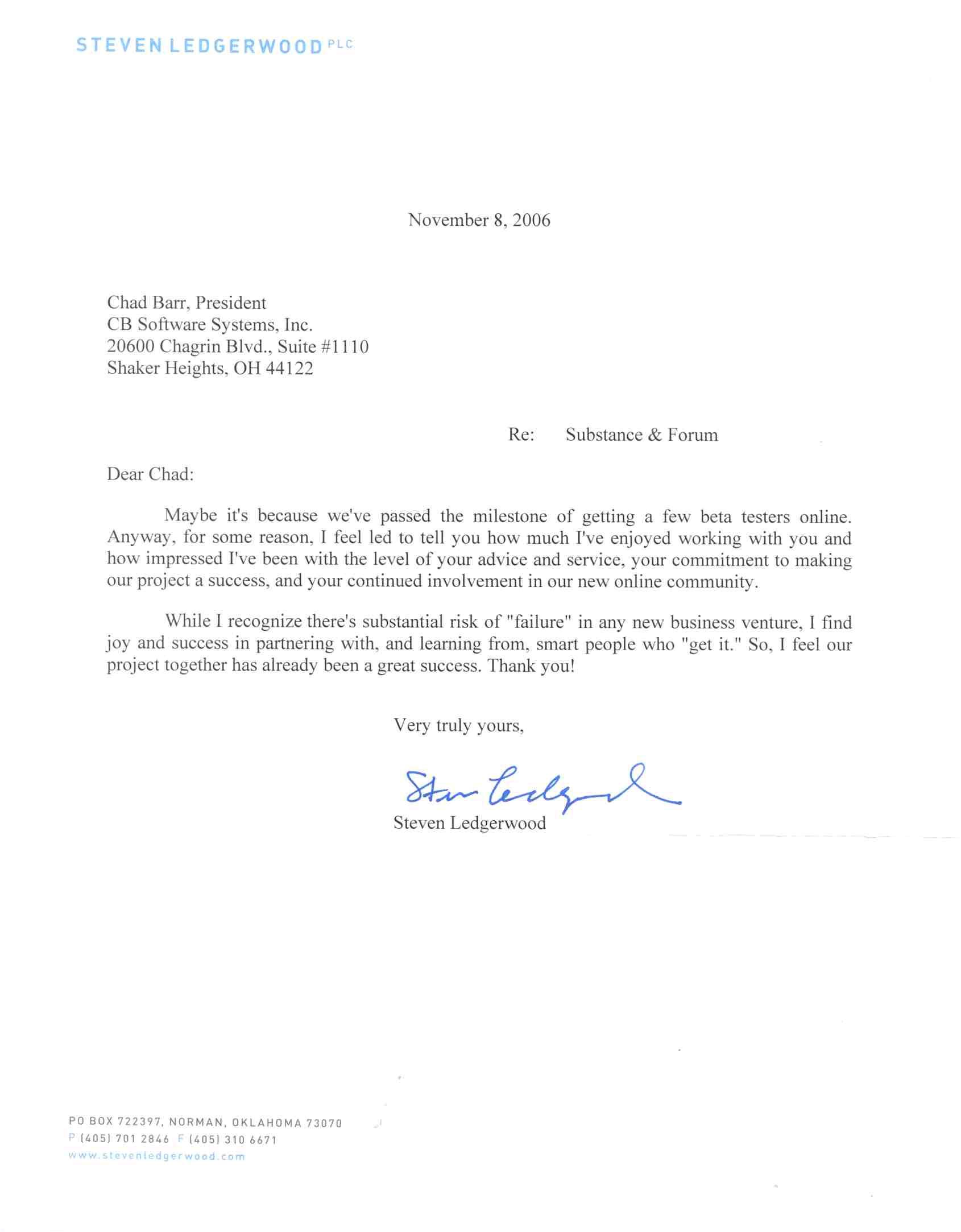 community service letter template