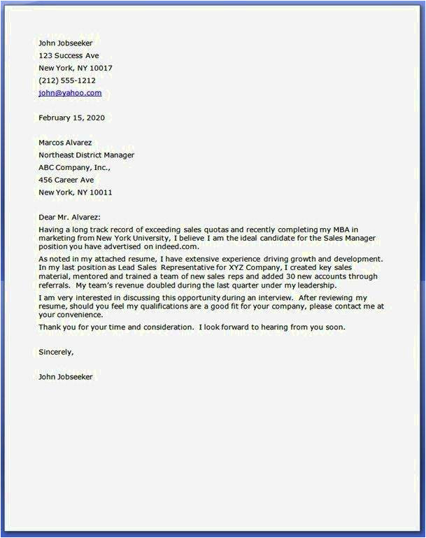 cover letter examples for returning to work moms