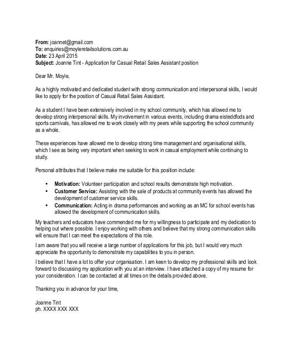 Cover Letter Examples for Sales assistant No Experience Sales and Marketing Cover Letter No Experience Kidsa Web