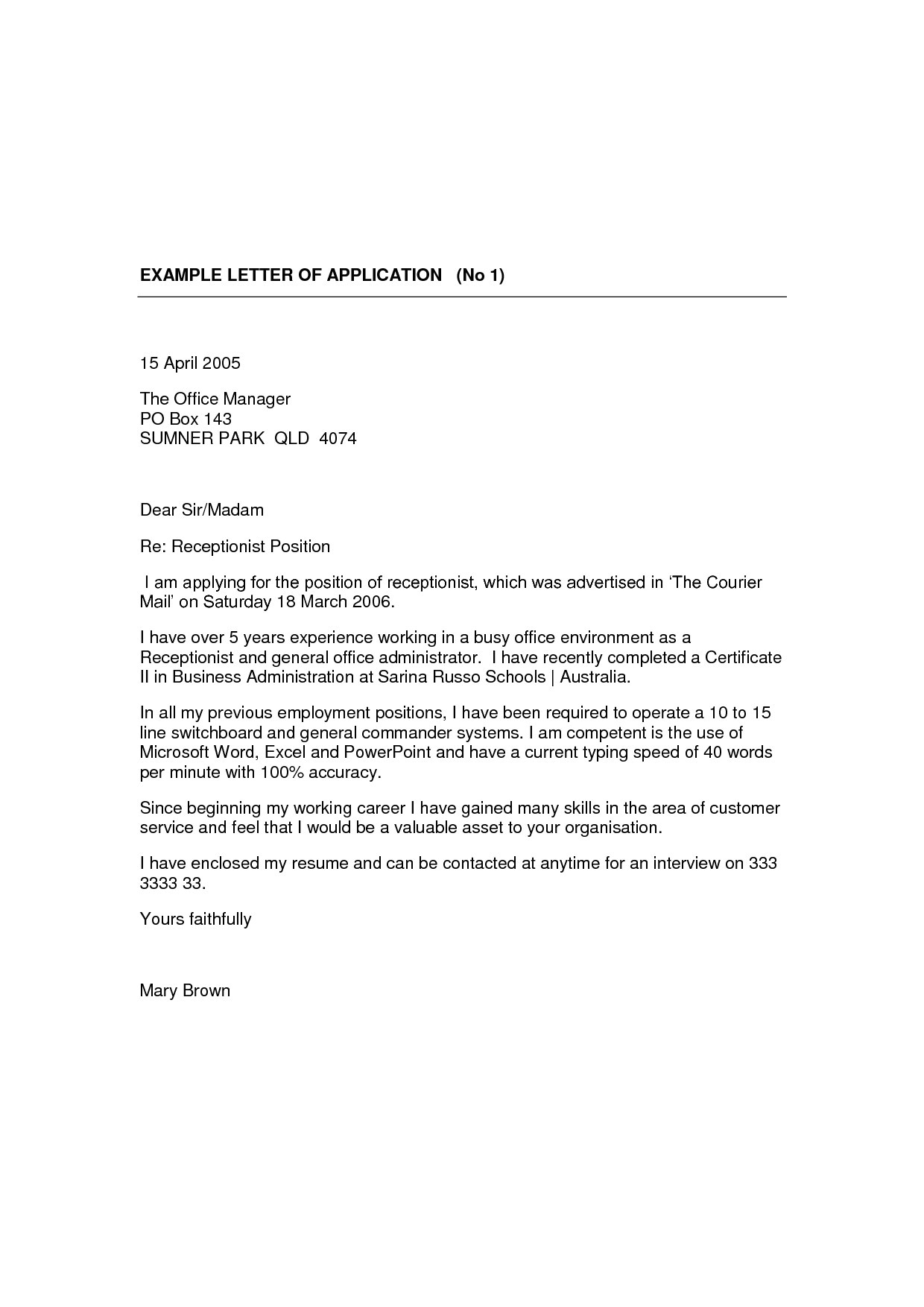 cover letter for receptionist with no experience cover letter 42 receptionist cover letter examples customer service cover letter example