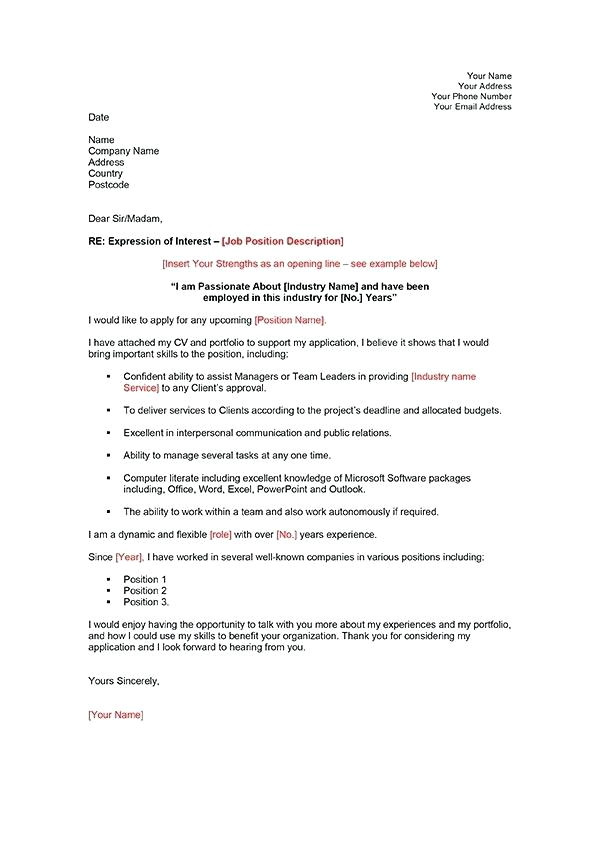 Cover Letter Expressing Interest In Company Collection Of solutions Financial Cover Letter Examples