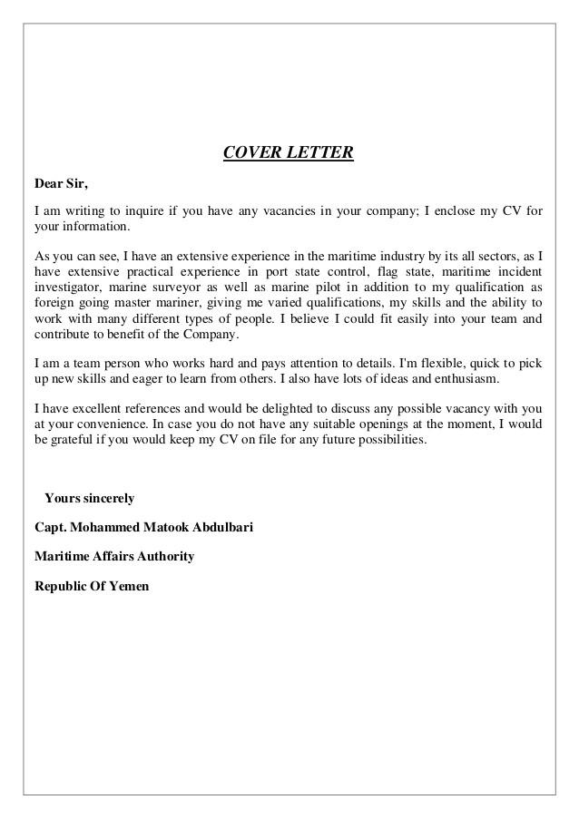 Cover Letter for A Curriculum Vitae Cv Mohammed Matook Cover Letter Cv