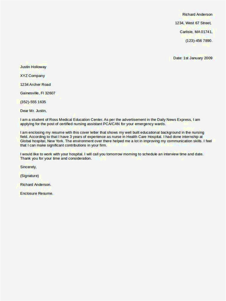 Cover Letter for Any Open Position Cover Letter for Any Job Resume Template Cover Letter