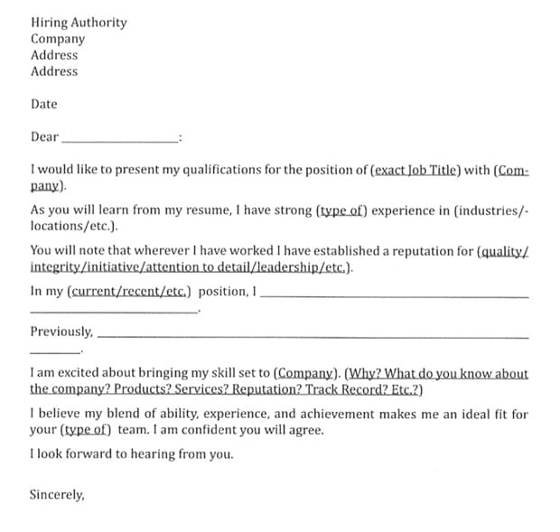 cover letter for cabin crew job with no experience