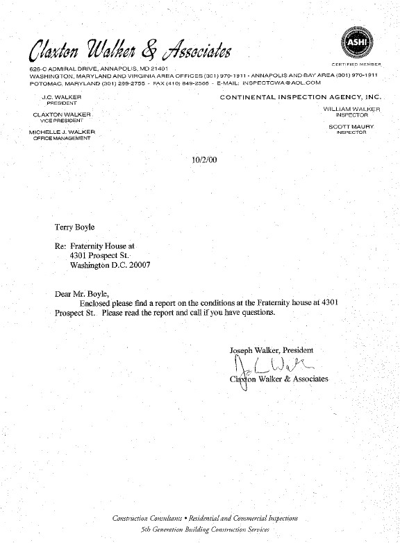 what is cover letter in report