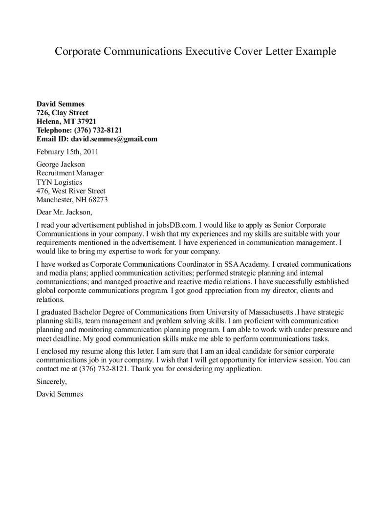 Cover Letter for Communications Internship Cover Letter for Pr Internship the Letter Sample