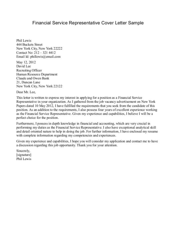 Cover Letter for Customer Service Representative with No Experience Customer Service Representative Cover Letter