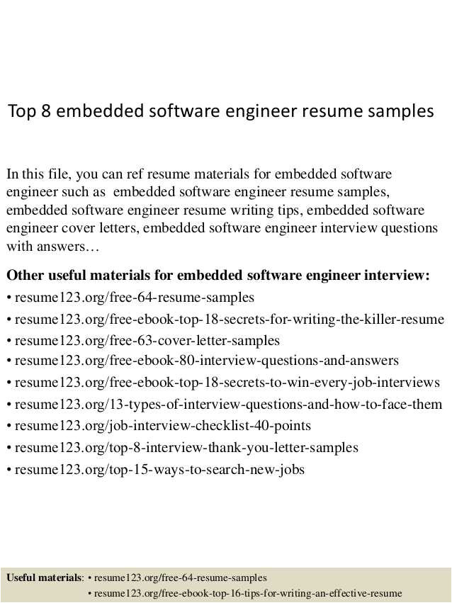 Cover Letter for Embedded software Engineer 22 Best Of Cover Letter for Embedded software Engineer
