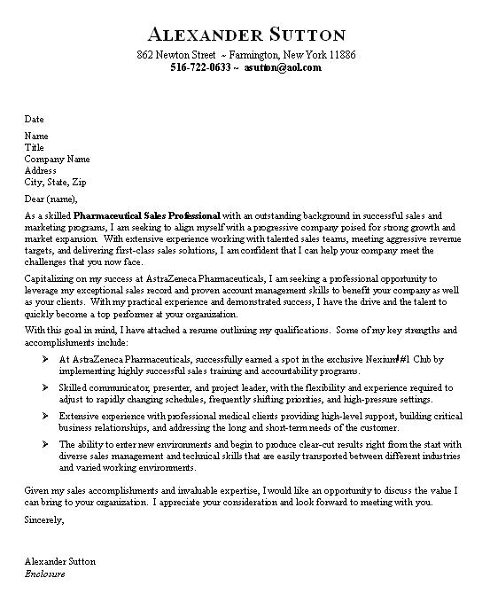 Cover Letter for Entry Level Sales Position Pharmaceutical Sales Entry Level Resume