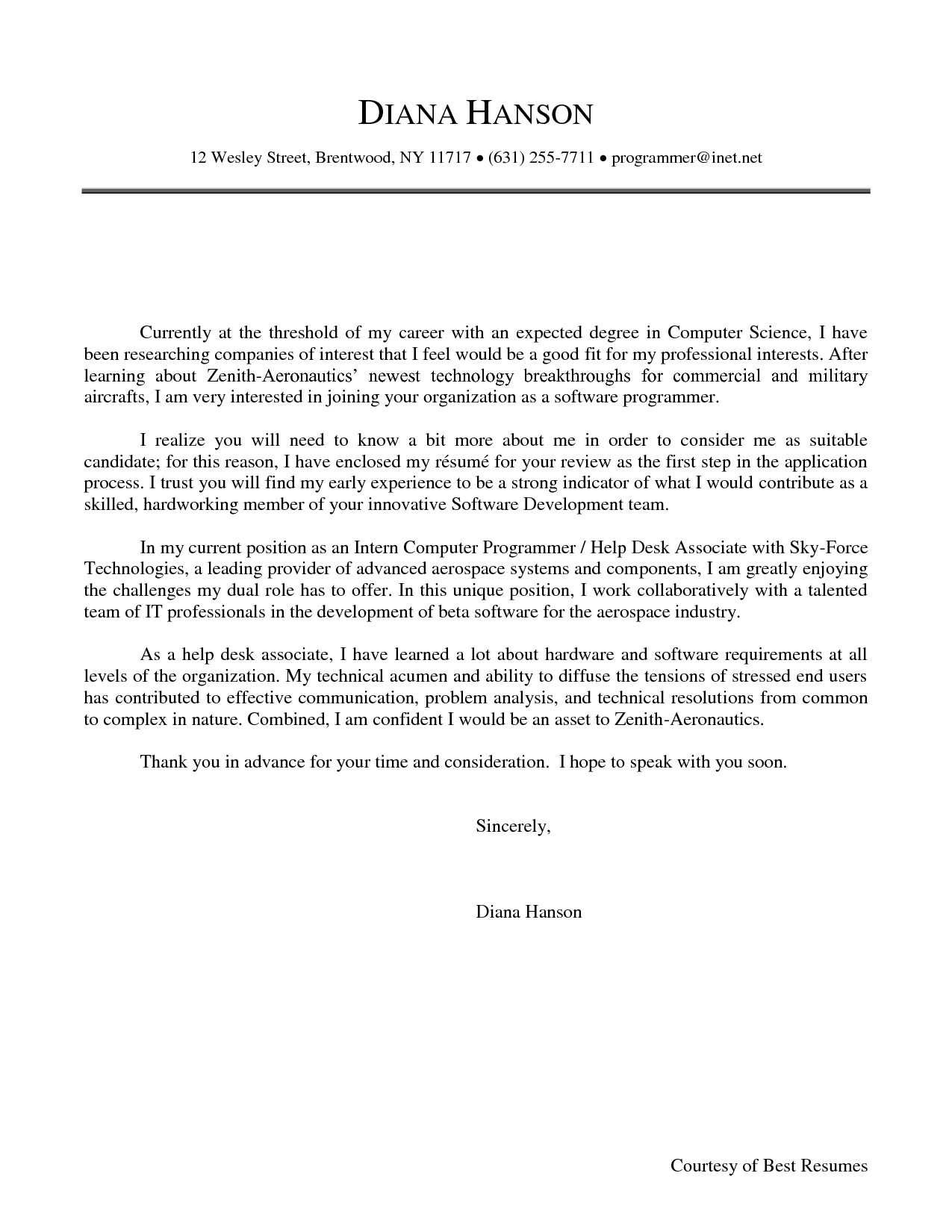 computer science cover letter 248